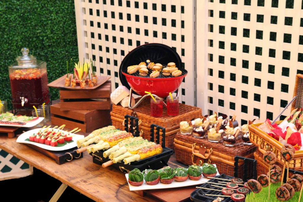 Healthy Food In Outdoor Catering
