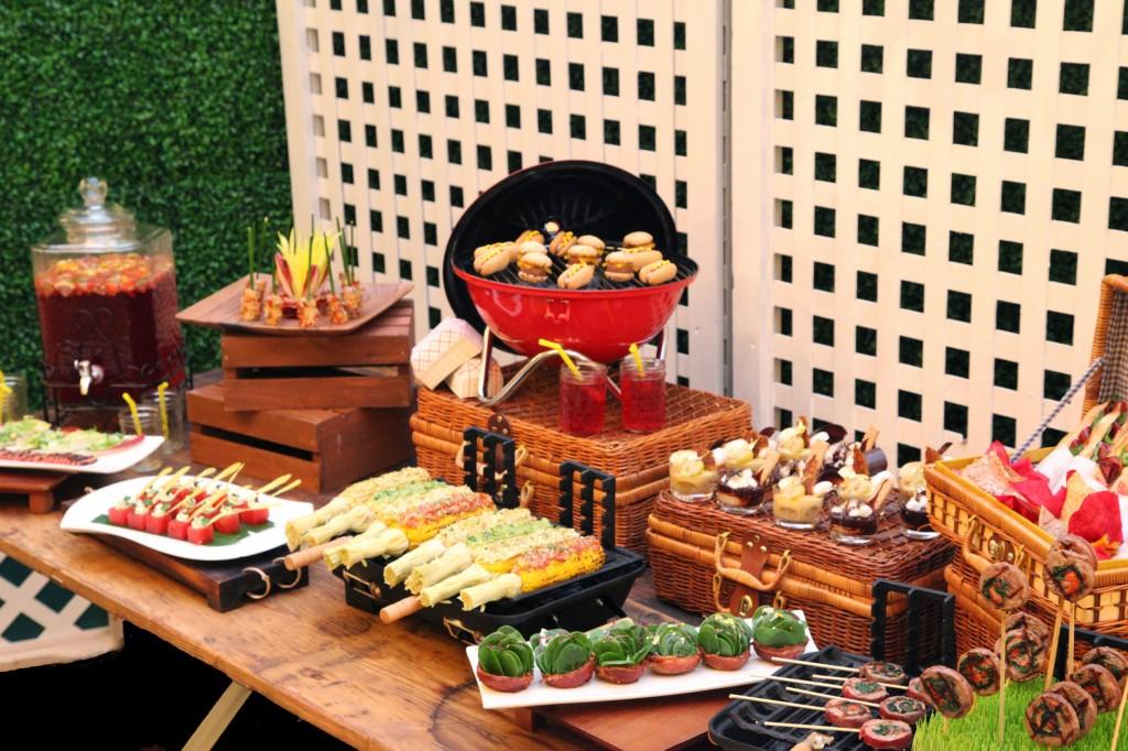 Healthy Food In Outdoor Catering