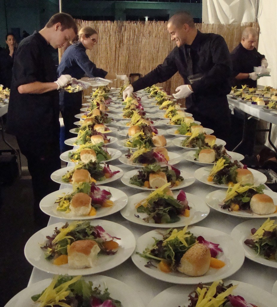catering plates