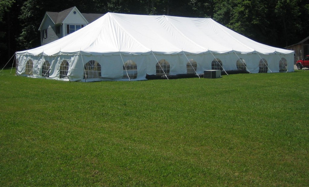 outdoor corporate party tent