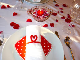 place setting for outside catering