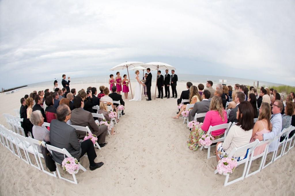 Beach Wedding umbrella