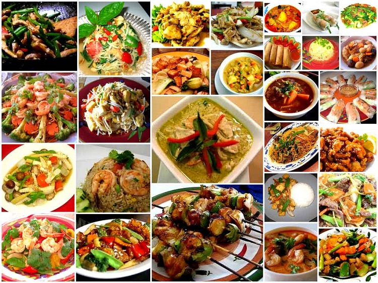 Small dishes for successful catering