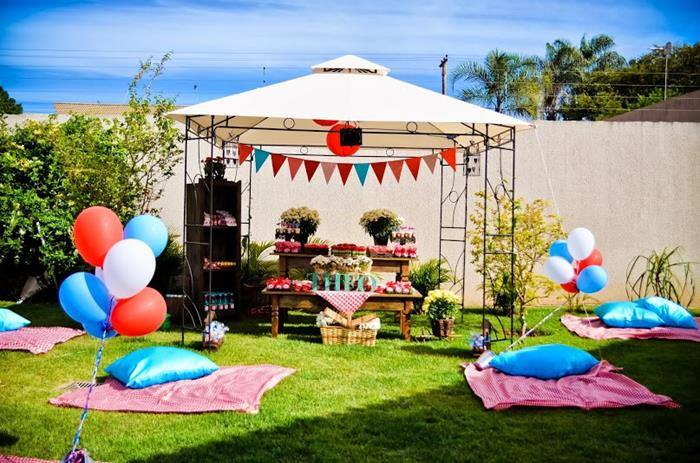 Decorations for Garden Party