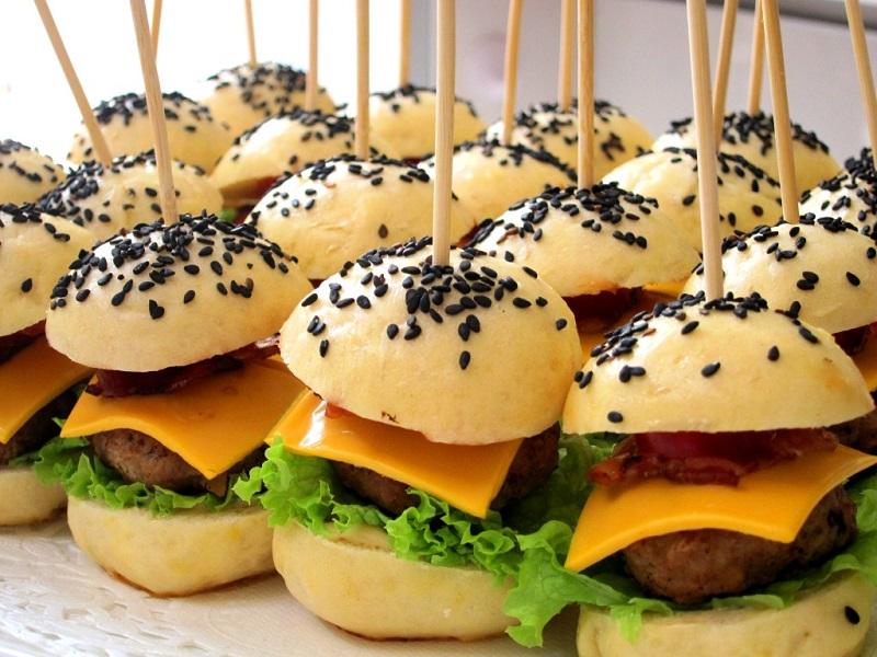 Finger Food Mini Burger