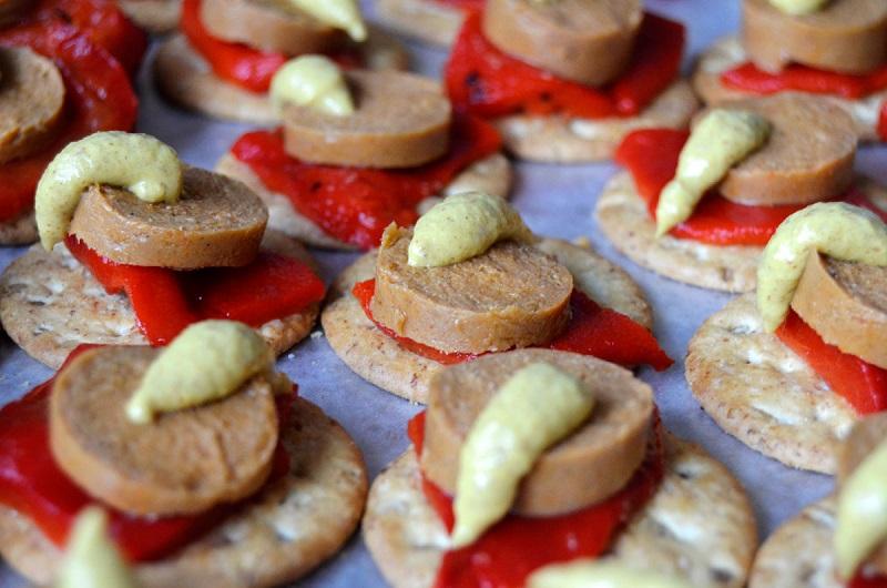 Desserts and finger foods