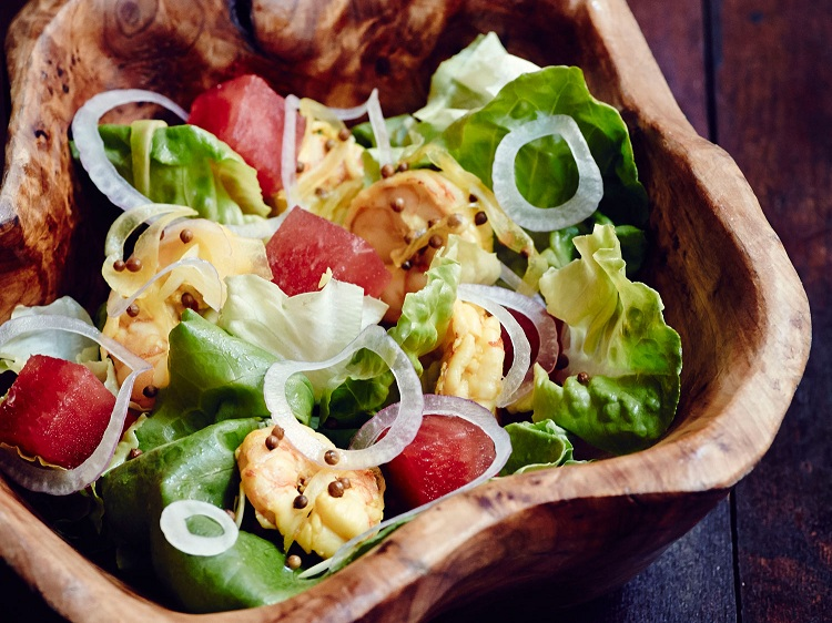 Bibb Lettuce Salad for Valentine's Day Catering