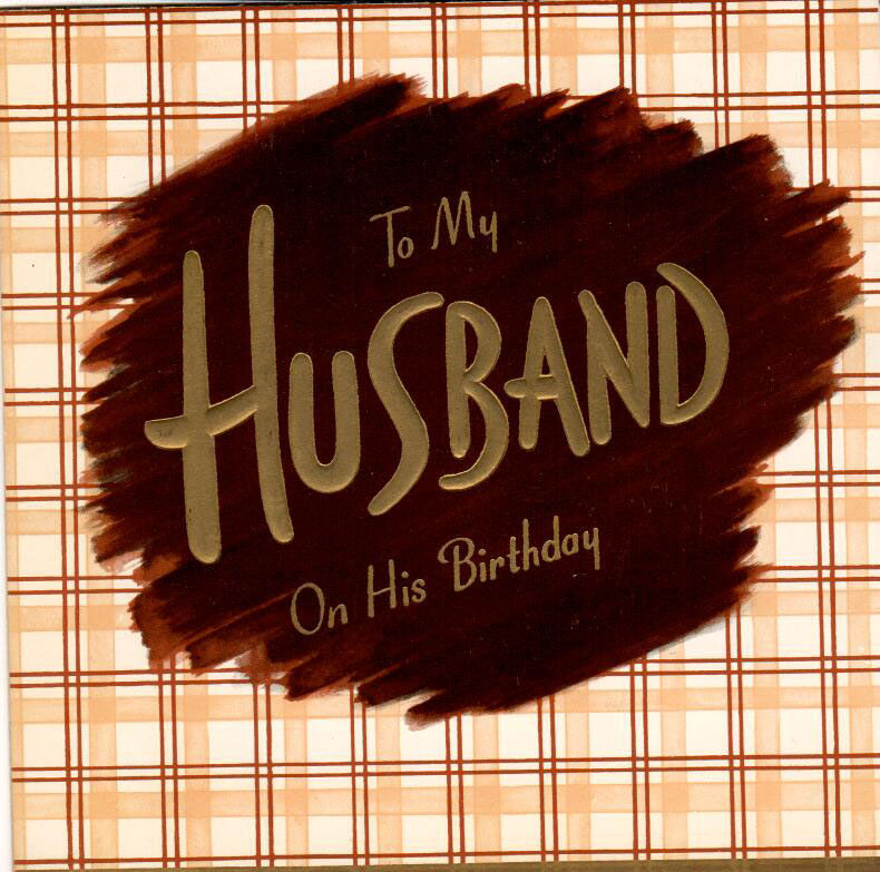 Husband's Birthday