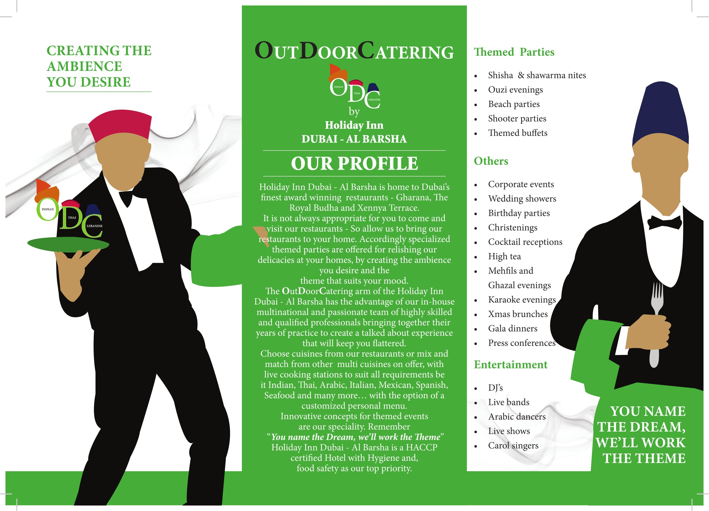 Professional Outdoor Caterers