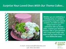 Surprise Your Loved Ones With Our Theme Cakes