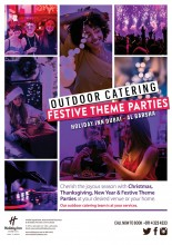 Book Your Festive Theme Parties Now!!